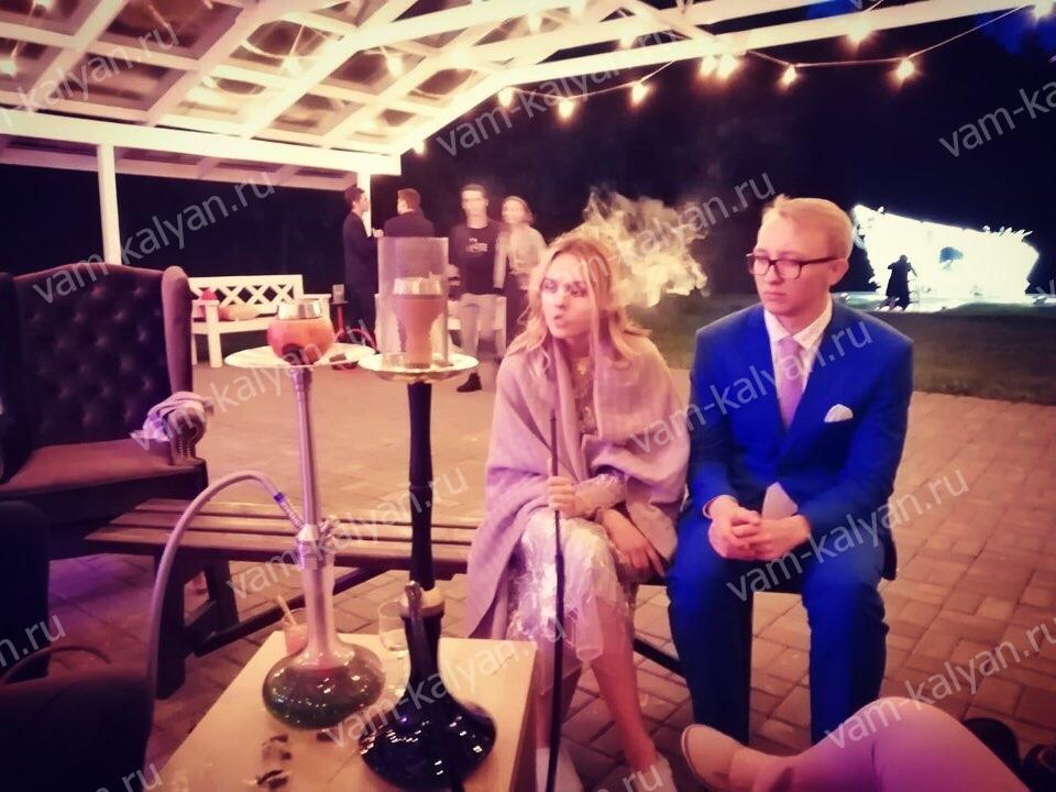 Кальян на свадьбе в Шувалoff Holidays